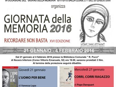 Giornata della Memoria 2016